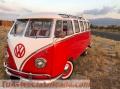 Volkswagen t1 samba, completamente restaurata.